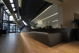 Industrial Reception Desk by Project Update Ashton Sixth Form College Reception Desk Lomax