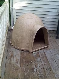 Dog Igloo Best Large Igloo Dog House Needs Cleaned No Leaks Fit Our Last