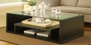 Coffee Table Designs Wooden Coffee Table Design With Glass Top New 2018 2019