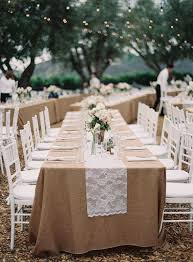 Wedding Table Clothes Fascinating Rustic Wedding Table Cloths 44 In Wedding Table