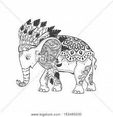 elephant american indian vector photo bigstock