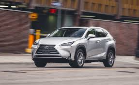lexus nx vs rx 2015 lexus nx300h hybrid fwd test u2013 review u2013 car and driver