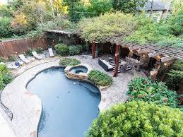 modern tudor in the heart of dallas with backyard oasis dallas