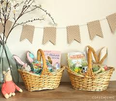 easter basket our sweetest non candy easter basket ideas