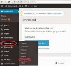 cara membuat background di blog wordpress cara mengganti background di wordpress offline nisfiani s blog