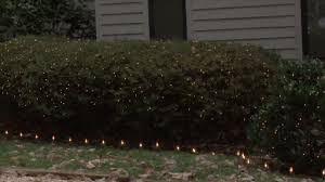 outdoor christmas lights for bushes outdoor holiday decorations shrub lighting monkeysee videos