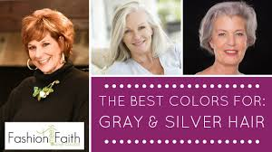 what color should i wear if i have gray hair shari braendel