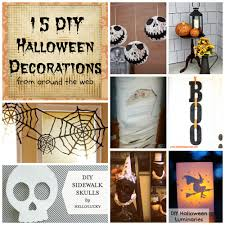 Home Made Halloween Decorations by Diy Happy Blurry Beautiful