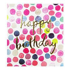 buy the proper mail company polka dots happy birthday card john
