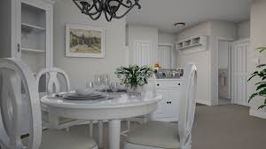 spacious one bedroom apartments for senior living riddle village model d dining room