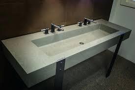 bathroom trough sink trough bathroom sinks trough bathroom sink 2 concrete bath sinks