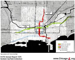 L Train Chicago Map chicago u0027 u0027l u0027 u0027 org transit plans chicago central area transit