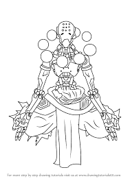 learn how to draw zenyatta from overwatch overwatch step by step