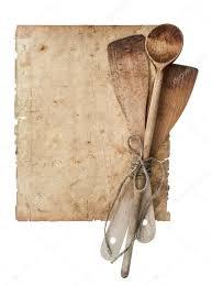 livre de cuisine ancien ustensiles de cuisine rétro et ancien cuisinier page de livre