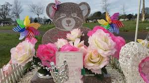 Easter Grave Decorations by Swindon Mother Reaches Compromise Over Ornaments On Child U0027s Grave
