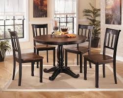 steve silver sao paulo 6 piece rectangular dining room set in d580d7 owingsville black brown 6 piece dining room set by ashley
