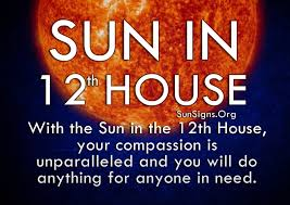 in house meaning sun in 12th house meaning sun signs