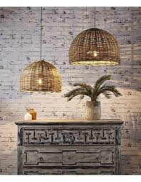 Large Pendant Lights For Kitchen by Best 25 Rattan Pendant Light Ideas On Pinterest Rattan Light