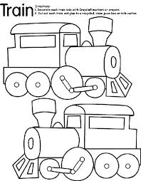 train coloring crayola