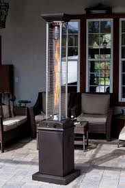 inferno patio heater mocha pyramid flame patio heater new golden flame quartz glass