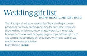 wedding gift honeymoon wedding registry gift ideas