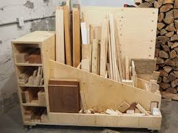 Mobile Lumber Storage Rack Plans by The Ultimate Lumber Storage Cart Free Plans Diy Montreal