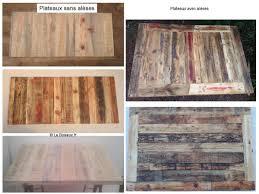 Plan De Table En Bois by Plateau De Table En Bois De Palettes 70 X 70 Cm Plateaux De