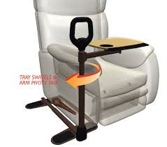 table for recliner chair stander assist a tray betterelder trays pinterest recliner