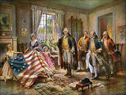 Usa Flag History Did Betsy Ross Steal The American Flag Flashback Ozy