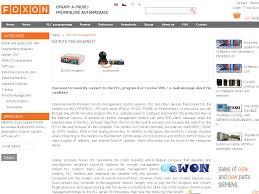 remote management foxon s r o opravy a prodej průmyslové