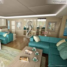 Home Yacht Interiors Design A U0027 Design Award And Competition Sarp 46m Yacht Interior Press Kit