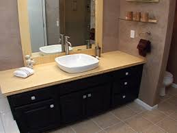 Bamboo Bath Vanity Cabinet How To Create A Custom Bamboo Countertop In A Bathroom How Tos Diy
