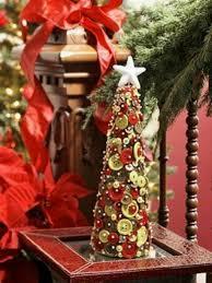 12 décorations de boutons noël en boutons xmas tree winter