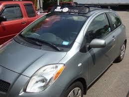 toyota yaris roof rack permanent roof rack rack attack boston s