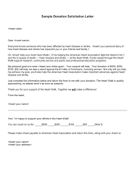 download letter requesting donations for church sample