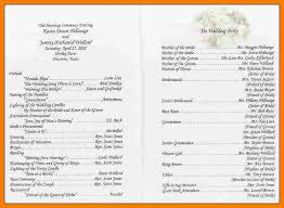 simple wedding program wording 8 wedding program wording monthly budget forms