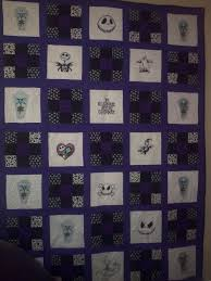 nightmare before christmas quilt nightmare before christmas