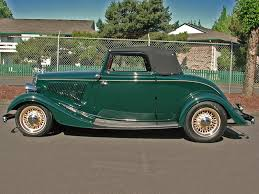 Steve U0027s Auto Restorations Sold 1934 Ford Cabriolet