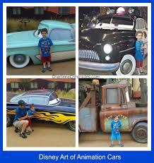 disney art of animation cars suite charlene chronicles