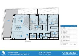 5 room floor plan floor plan of mayan yas island
