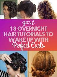 black hairstyles without heat 18 overnight hair tutorials that will let you wake up with perfect