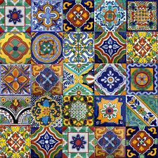 40 6x6 mexican tile stair risers mix ideas country porch