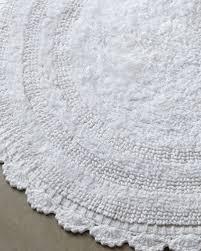 Oval Bath Rugs Cobra Trading Crochet Border Bath Rugs
