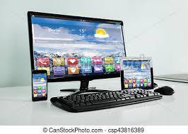 gadget bureau gros plan électronique gadget bureau bureau mobilephone