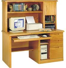 Modern Desk Hutch Three Posts Orviston Computer Desk With Hutch Reviews Wayfair With