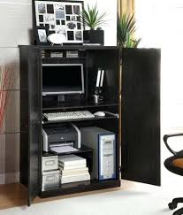 Office Desk Armoire Cabinet Computer Armoire With File Drawer Perfectgreenlawn
