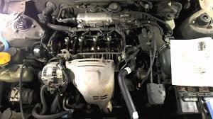 how to replace the valve cover gasket on a toyota camry youtube