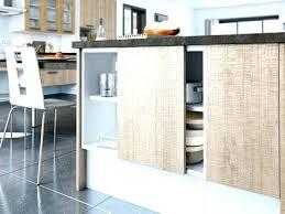 cuisine facade verre meuble de cuisine en verre meuble rideau a lamelles en verre