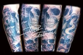 forearm skull tattoos tattoos u0026 art by david ekstrom skulls evil dead