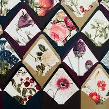 How To Fold Paper For Envelope Diy Floral Envelope Liners Snippet U0026 Ink